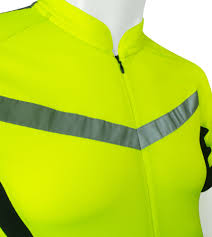 High Vis Reflective Cycling Jersey Made For Visibility And