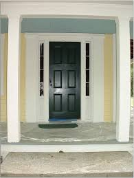 Gray Floors What Color Walls by Romantic Black Front Entry Door With Yellow Wall Color White
