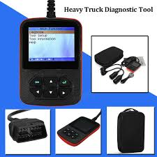 cr hd heavy duty truck code scanner reader ecu scanner diagnostic