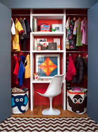Space Saving Closet Ideas With A Dressing Table Organizing U0026 Storage Tips For The Pint Size Set Hgtv