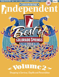 best of colorado springs 2014 vol 2 welcome and winners index