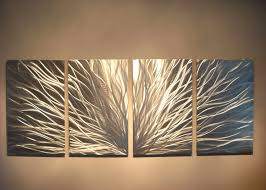 Metal Decorative Letters Home Decor Terrific Metallic Wall Decor 3 Silver Metal Tree Wall Decor Silver