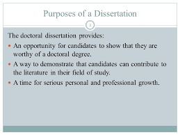 LIBERTY UNIVERSITY SCHOOL OF EDUCATION The Doctoral Dissertation     SlidePlayer Purposes of a Dissertation The doctoral dissertation provides  An opportunity for candidates to show that