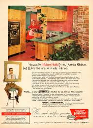 1956 vintage ad formica kitchens very 50s style 060115 ebay