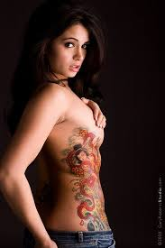 Chest Tattoos For Girls Picture