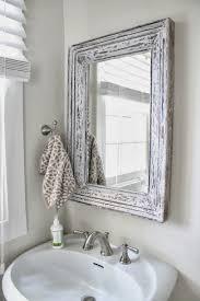 Shabby Chic Bathroom Vanity by Small Bathroom Chic Elegant Mirrors Make Bathrooms Look Bigger