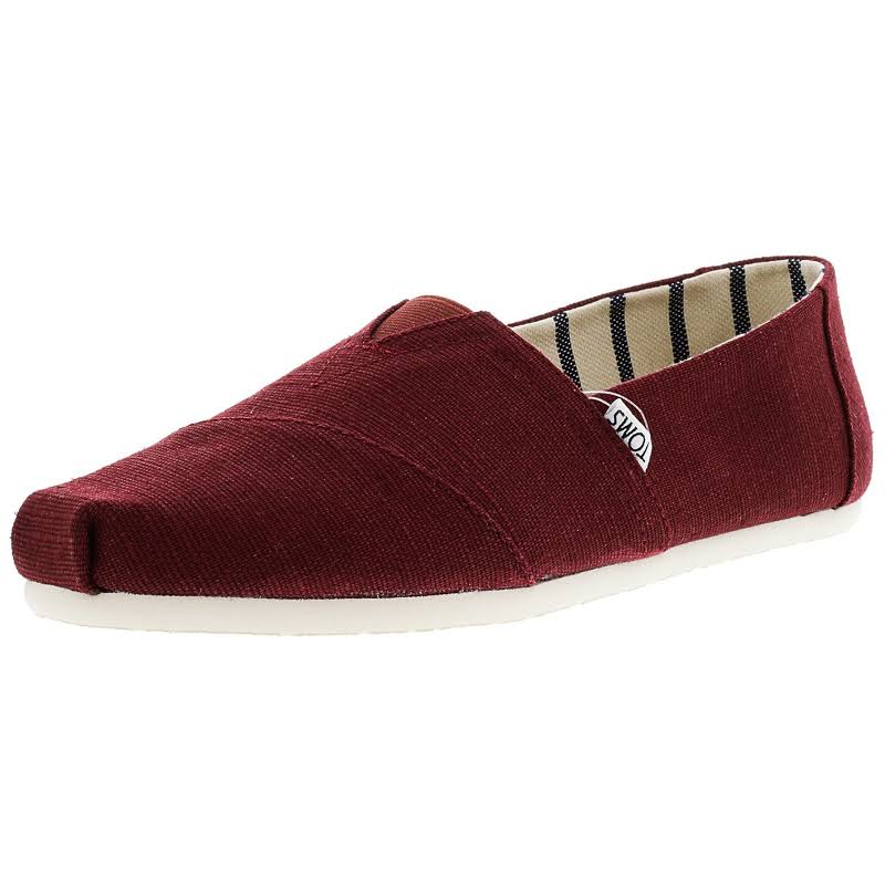 Toms Classic Heritage Canvas Ankle-High Slip-On Shoes