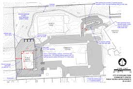 Community Center Floor Plans Proposal To Move Roeland Park Public Works Operations To Community