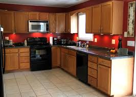 kitchen wall colors with brown cabinets beadboard home bar