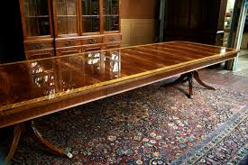Large Dining Room Tables by Enchanting Extra Large Dining Room Tables Also To Foot Triple