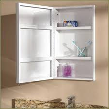 Mirrored Medicine Cabinet Doors by Good Recessed Medicine Cabinet No Mirror Homesfeed