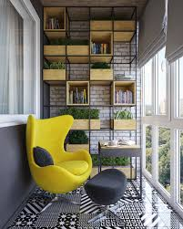 Yellow Interior by Outside On The Terrace With An Open View You U0027ll Find Shelving And