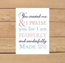 psalm 139 14 print