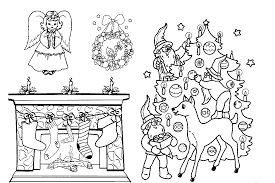 christmas kid coloring pages printable christmas coloring pages