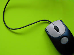 mouse green background