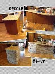 air stone island diy autumn mountain kitchen reno pinterest
