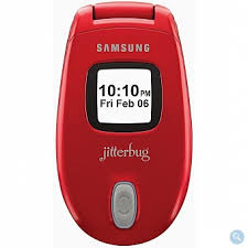 Jitterbug J Cell Phone - Red