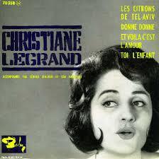 Vous avez en main le premier disque de <b>Christiane Legrand</b> . . . toute seule <b>...</b> - legrand_c__donne_donne6211