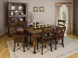 brown wooden chairs with back combined with rectangle brown wooden