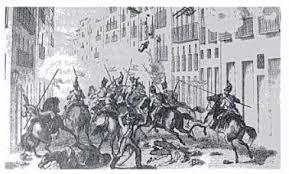 Represión en Barcelona 1842