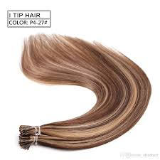 Itip Hair Extensions Wholesale by Neitsi 20 U0027 U0027 Fashion Women Ombre I Tip Pre Bonded Stick Keratin