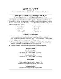 Vet Tech Resume   Resume Format Download Pdf