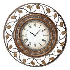 howard miller brass work 32 in wall clock hayneedle