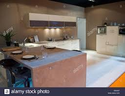 paris france italian design kitchen at trade show