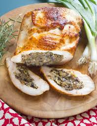Stuffed Thanksgiving Turkey Leek And Mushroom Stuffed Turkey Breast Sousvide Supreme Blog
