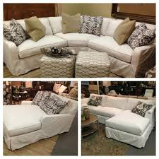 Most Comfortable Sectional by Robin Bruce Havens Slipcover Sofa Now Available As Sectional Sofa