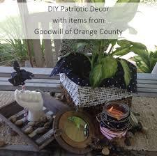 Home Decor Orange County by Diy Patriotic Decor Goodwill Of Orange County Blog