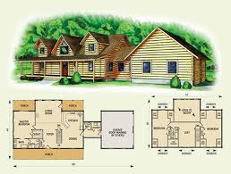 log cabin house plans with loft house plan