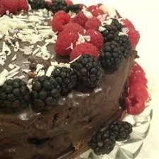 deep chocolate raspberry cake recipe allrecipes