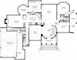 Two Story Floor Plan Bright Beauteous Awesome Garage Floor Black White 62 Bedroom Bath