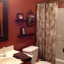 Paint For Bathroom Walls Best 25 Orange Bathrooms Ideas On Pinterest Orange Bathroom