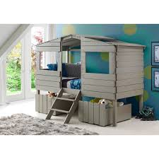 donco twin treehouse loft bed hayneedle