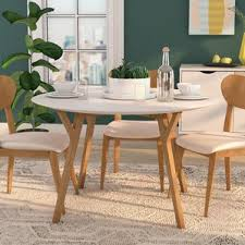 MidCentury Dining Tables Youll Love Wayfair - Century dining room tables
