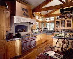 kitchen design french rustic kitchen design with hanging pot