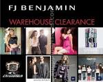 28 – 30 Nov : FJ BENJAMIN Warehouse Clearance | shoppingNsales
