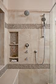 Tile Ideas For Small Bathroom Shower Niche Ideas Bathroom Contemporary With Bench In Shower