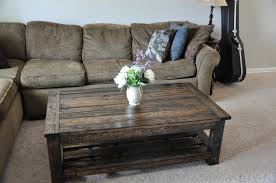 furniture rustic coffee table plans storage coffee table plans