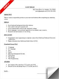 Resume Examples  A Sample Resume For A College Student  internship         Medium Size of Resume Sample  Good resume examples college student with skills in software or