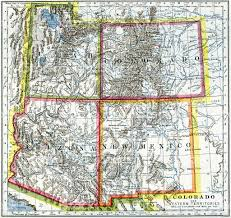 Map Of Colorado by Map Of Colorado Utah New York Map