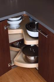 our giant turntable shelves swivel inside the cabinet and utilaze