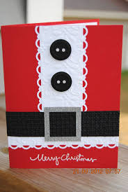 cute handmade christmas card get supplies to make your own here
