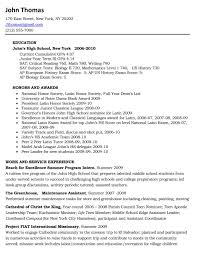 Resume Outline For High School Students      college student         sample resume  resume for high school student first job resume job resume       high school