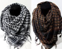 Women Men Fashion Arab Shemagh Keffiyeh Palestine Scarf Shawl Kafiya Wrap x