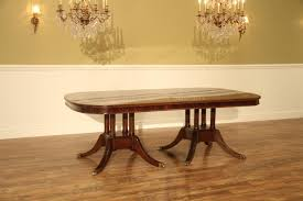 extra large formal mahogany dining table for traditional dining