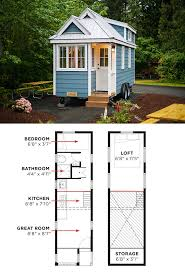 A Frame Cabin Floor Plans With Loft The Cypress Is Tumbleweed U0027s Most Popular Model These Tiny House