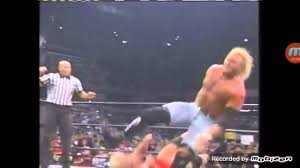 Halloween Havoc 1995 Osw by Sid Vicious Breaks Leg At Wcw Ppv Youtube